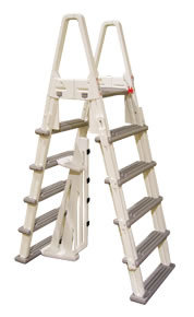 Confer A-Frame Eliminator Safety Ladder with Barrier