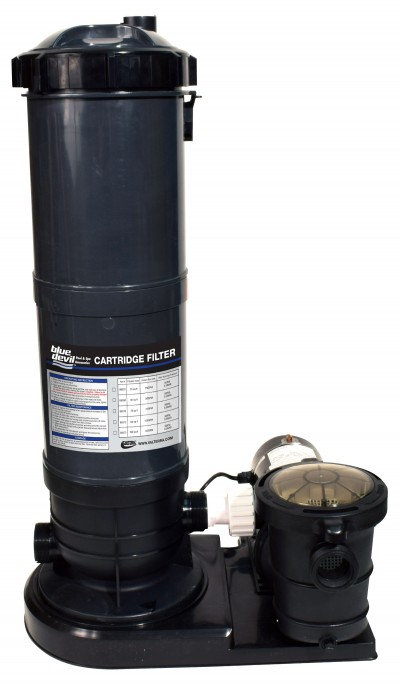 Valterra 100sqft Cartridge Filter System with 1.5hp Pump