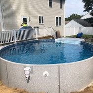18ft round EcoTherm with steps