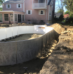 Inground Pool Removed and Replaced