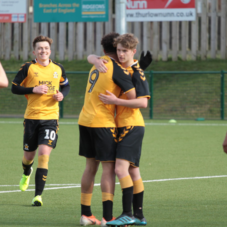 A second half fight back from Swindon Town U18's meant the points were shared in a six goal thriller