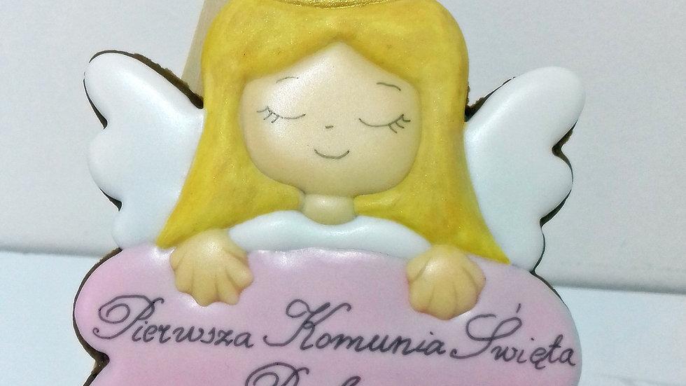 Aniołek na chmurce dziewczynka
