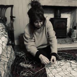 Preparing the net for stargazing event