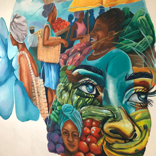 Paradise point mural