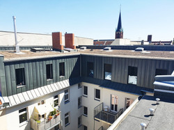 Aussenansicht Bauvorhaben Dachgeschoss