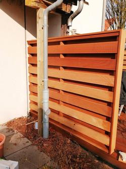 Sonderanfertigung Sichtschutz Terrasse