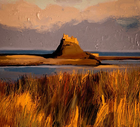 Alpenglow Holy Island