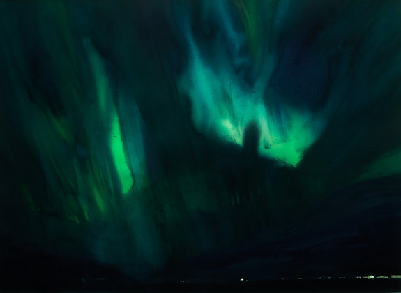 Aurora Lyngen Fjord Norway