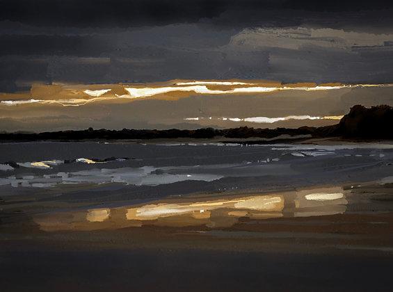 Winter Sky, Foxton Beach, Northumberland