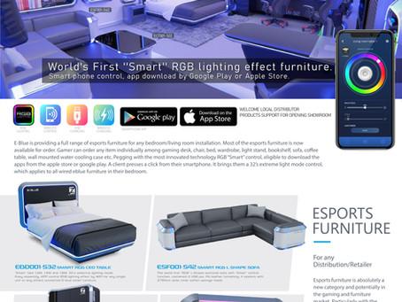 Profitable esports furniture for distribution/retailing
