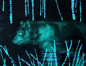 A Secret Life of Animals Green Bear