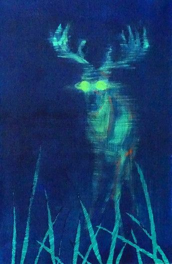A Secret Life of Animals Green Stag