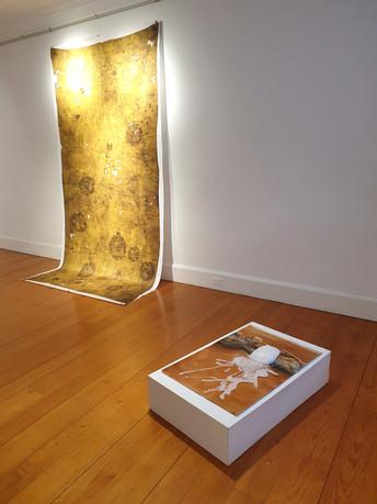 Exhibition view, Galerie d'art du Parc, Trois-Rivières, QC, Canada