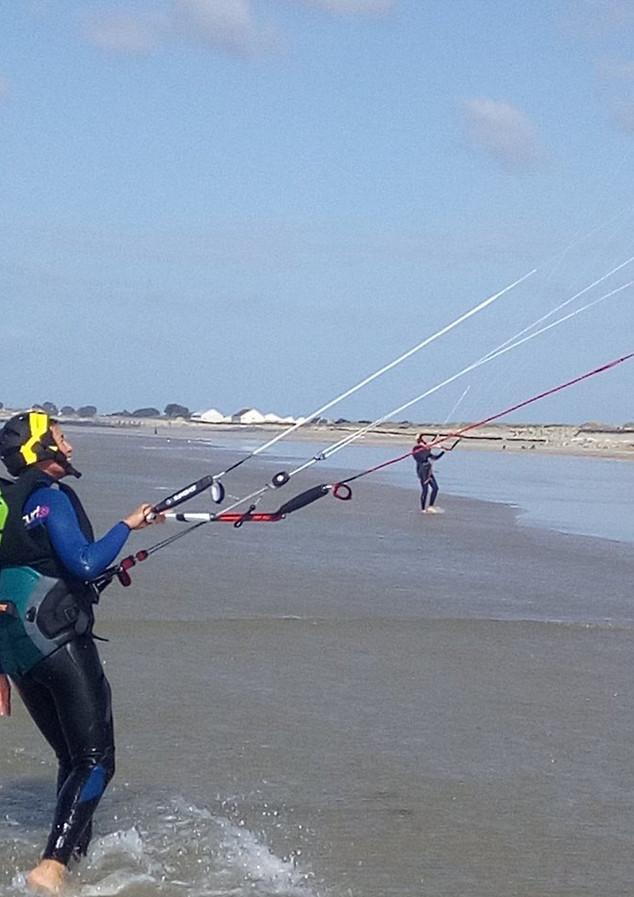 UPandKITE cours kitesurf