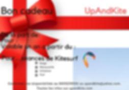"""Bon-cadeau-""""offrir-de-la-glisse""""-Kitesurf-Stand-Up-Paddle"""