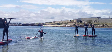 Rando Stand Up Paddle Plouhinec Gavres