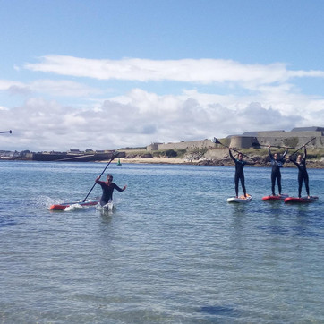 Rando Stand Up Paddle Morbihan Quiberon