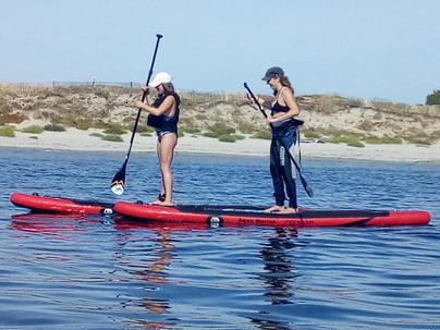 Randonnée Stand up Paddle morbihan bretagne sud