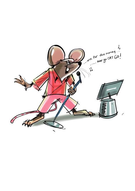 Karoake mouse.