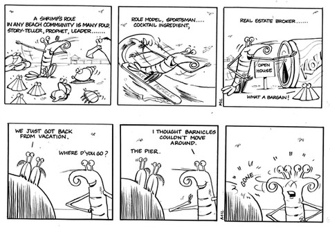 SKAMPEE strips from the 'Daily Breeze' Southbay newspaper.