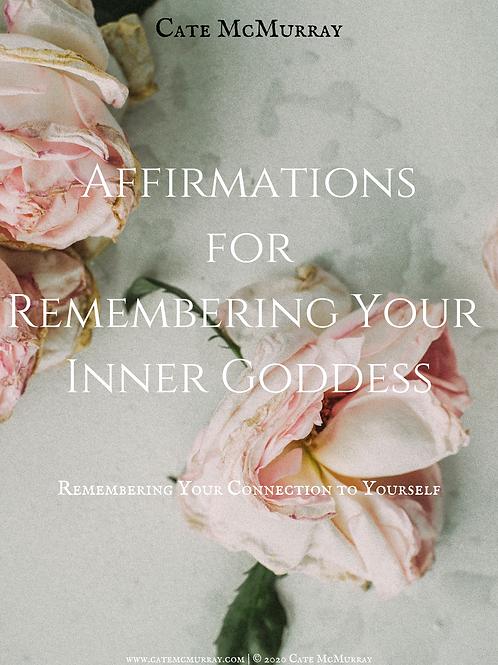 Affirmations Booklet