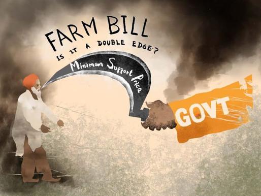India's 3 new Farm Bills create uproar among Indian farmers.