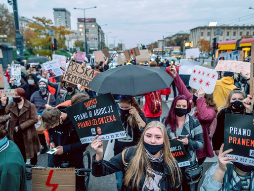 Poland's near-total abortion ban sparks nationwide 'Women's Strike'.