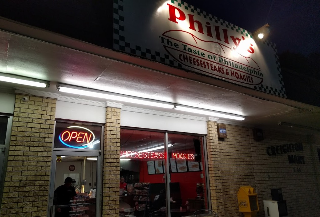 Philly's-Outside-at-Night