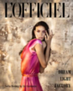 Sofia Resing for L'Officiel
