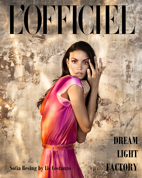 Sofia Resing for L'Officiel
