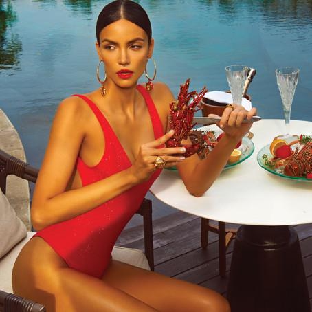 Lobster + Fashion cover + Bali Luxury Destination