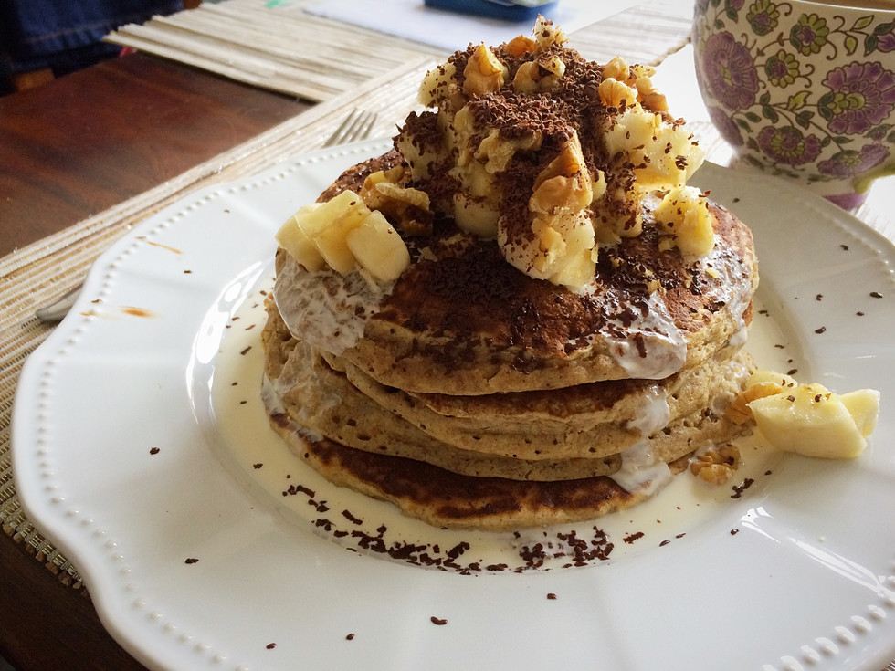 #EasyRecipe American-Style Pancakes