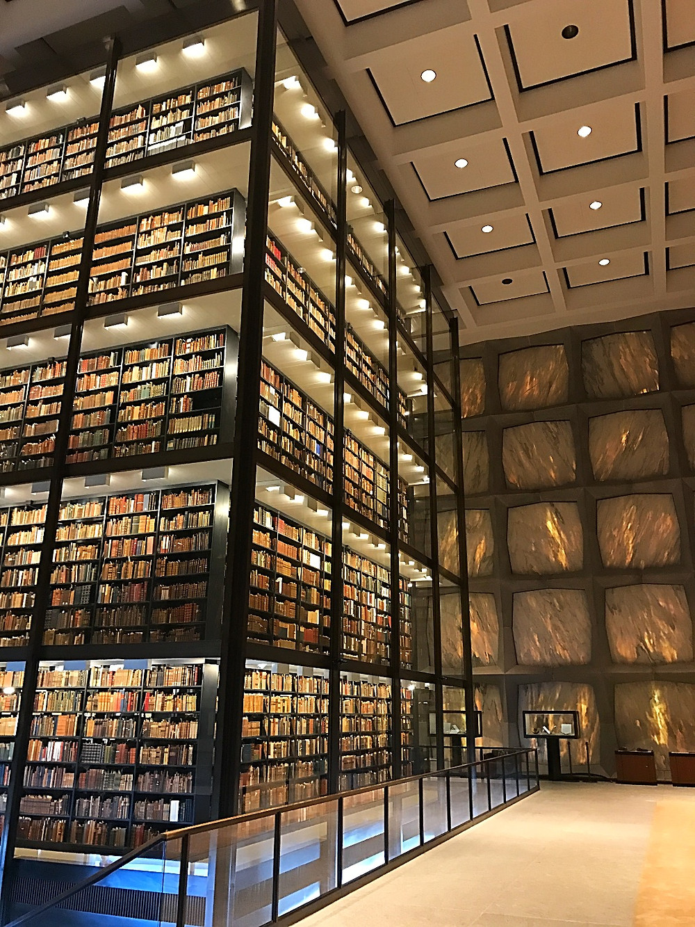 Beinecke Rare Book & Manuscript Library, Yale University, New Haven, Connecticut, USA
