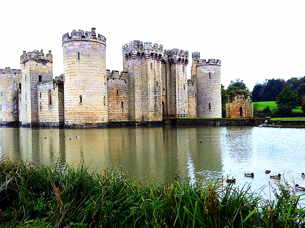Photo strip_Bodiam Castle,East Sussex, England