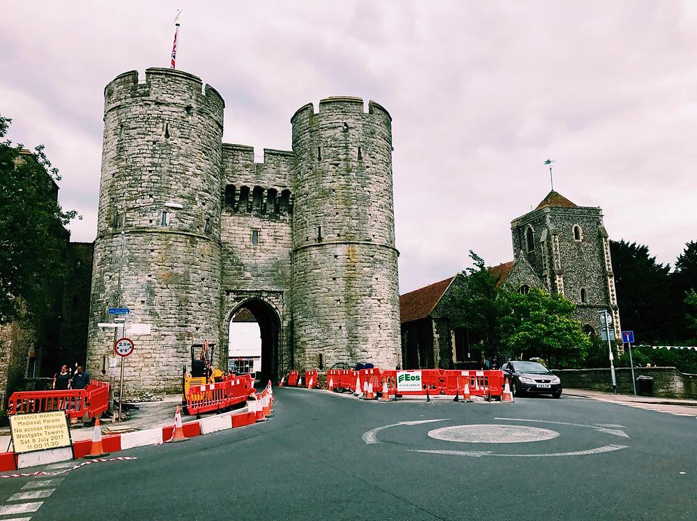 Westgate Towers, Canterbury, Kent, England