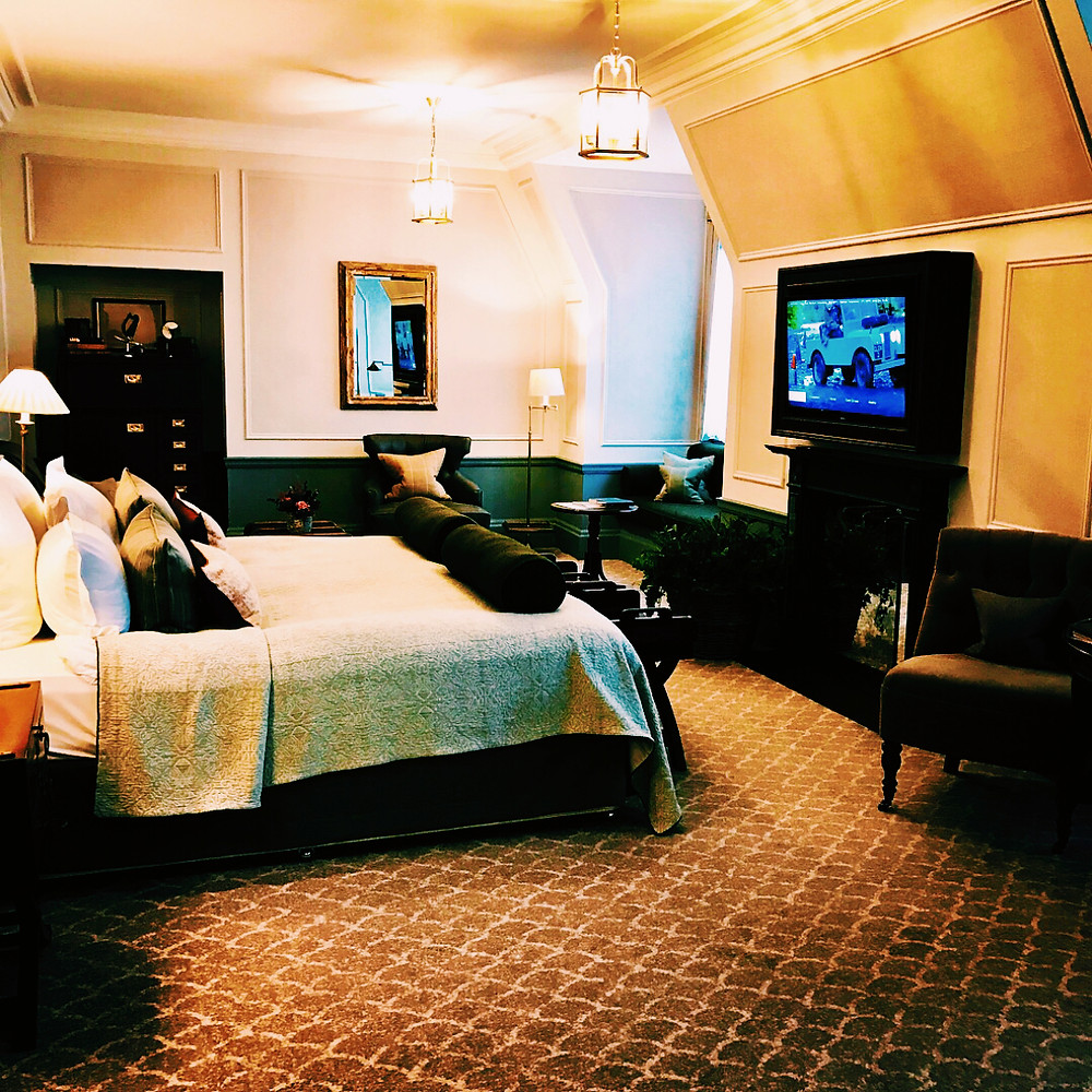Sovereign Room, Gleneagles Hotel, Scotland