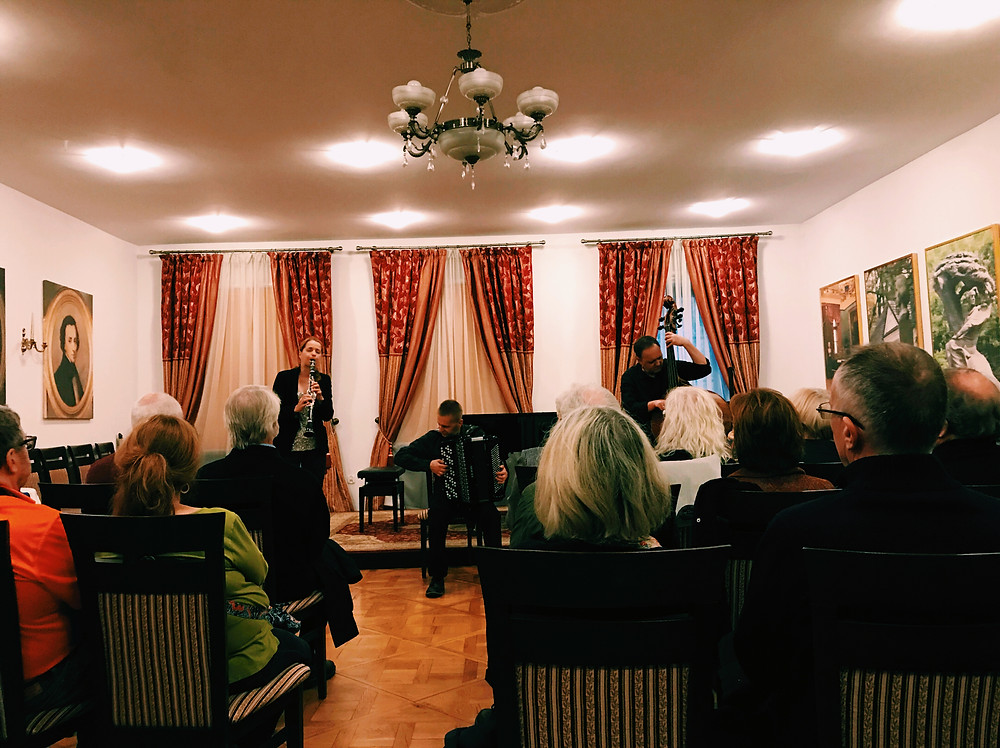 Klezmer concert, Old Town, Krakow, Poland