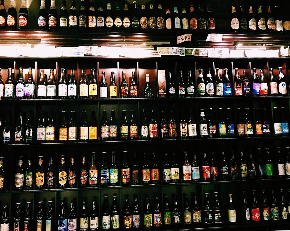 Beer Gallery, craft beer & ales bar, Krakow, Poland