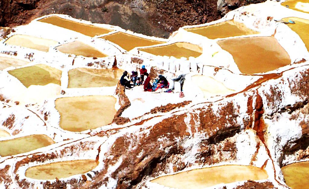 Salt flats, Peru