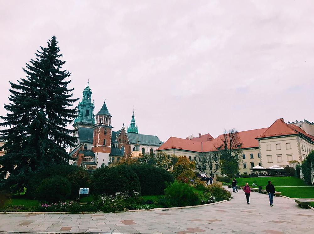 Wawel castle & cathedral, Krakow, Poland