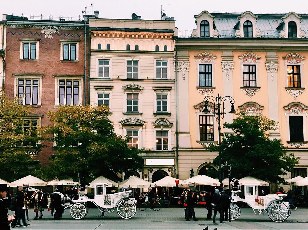 Main Square, Krakow, Poland