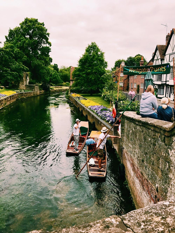 Westgate Gardens, Canterbury, Kent, England