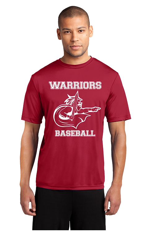 WARRIORS BASEBALL  Dri-Fit T-shirt (Youth and Adult) (PC380_12)