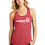 Thumbnail: OBSESSION ACROSS  RACER BACK TANK  (LADIES) (DM138L)