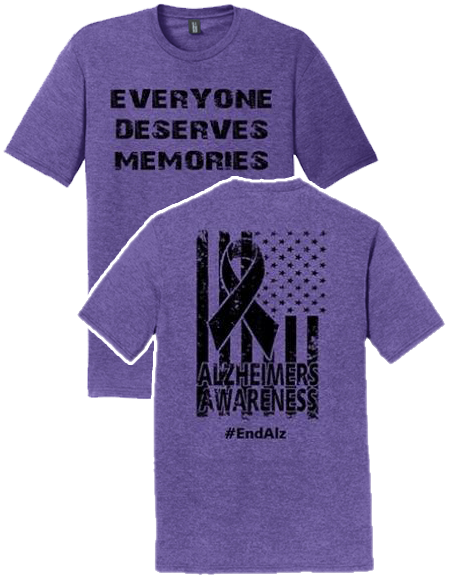 ADULT - End Alzheimers Triblend T-shirt