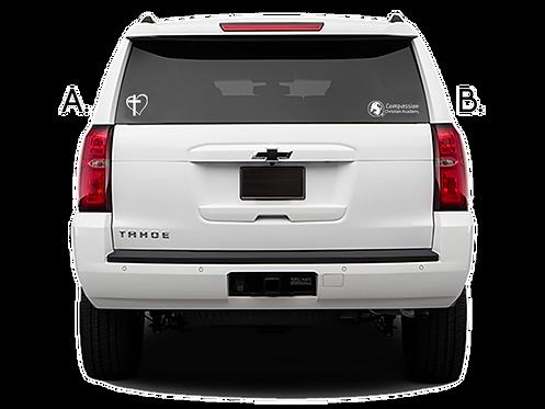 COMPASSION Car Decals (2 options)