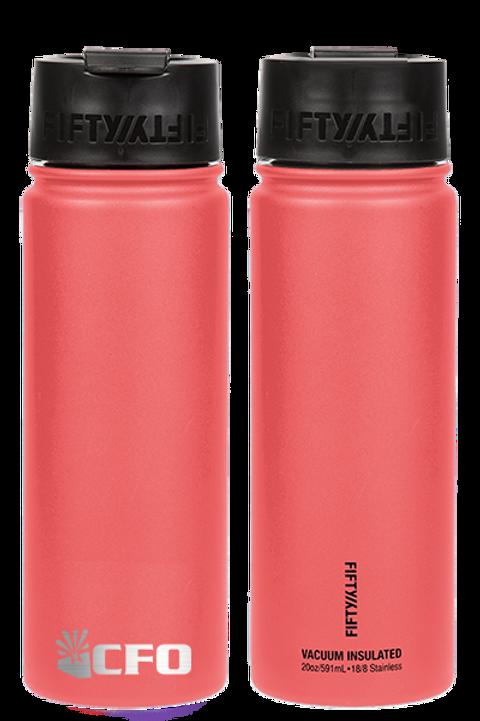 20 oz Abbreviated Logo 50/50 Bottle (9 Colors)