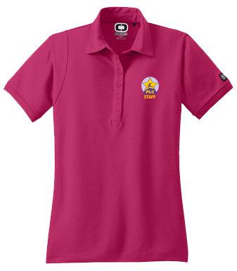 AAEM LOG101 LADIES CUT OGIO Dri Fit Polo (5 colors)  STAFF