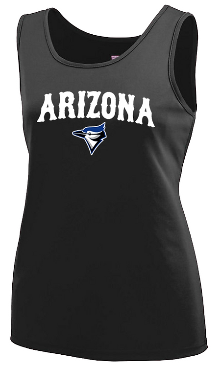 AZ BIRD LOGO - Ladies Dri fit Tank (1705-12)