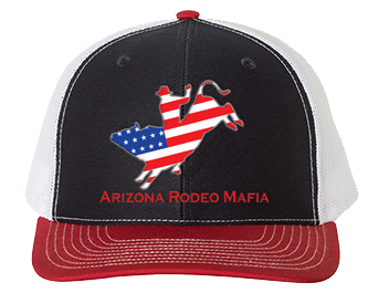 ARIZONA RODEO MAFIA- ADJUSTABLE RICHARDSON HAT - 4 COLORS - ARM12